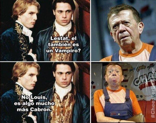 """Que cuando se dijo... """"Que se haga la luz"""". #Chabelo ya debía 2 recibos. Será? http://pic.twitter.com/cYo6hpDr"""