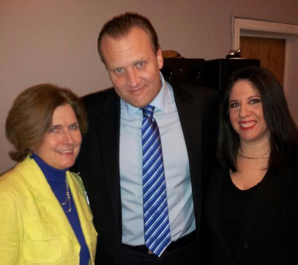 Photo: At @internetlabs #RIAcomply event tonight (L-R) @JoyceMSullivan @ReformedBroker and yours truly :-) http://pic.twitter.com/SlAxeWou