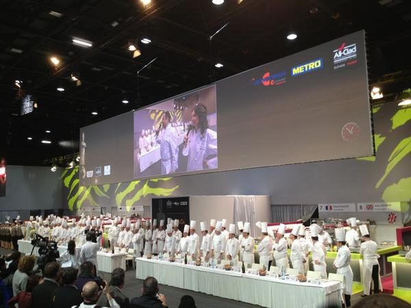 Judges for Bocuse d'Or 2013 are being announced.  Here we go ! via @Chef_Keller #BocusedOr2013 #lgtdm #SIRHA http://pic.twitter.com/E3ZwrTzy