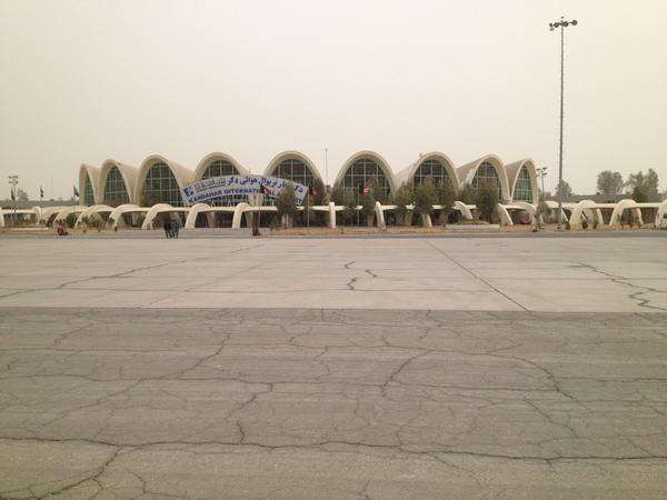 Great visit to #Kandahar today. The airport was funded by @USAID in the 1960s and is an architectural gem. pic.twitter.com/mnafIo2A