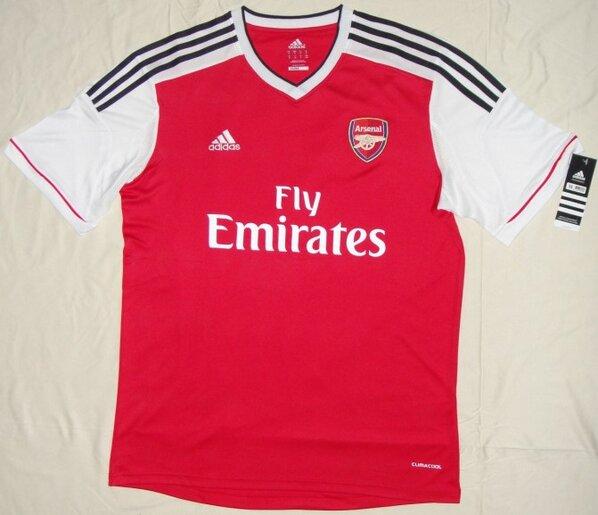 La nueva camiseta del Arsenal 2013 2014