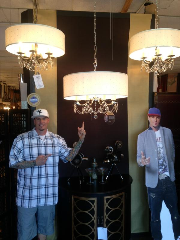 Vanilla Ice has a new line of lights and is better than you and your friends