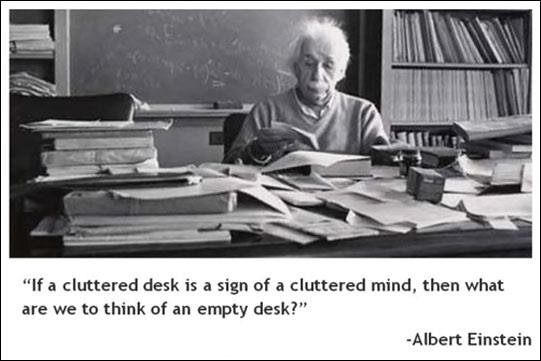 Carla Dunareanu On Twitter If A Cluttered Desk Is Sign Of Mind Then What Are We To Think An Empty
