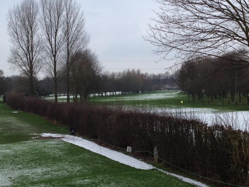 Twitter / davidjsilvester: Playing golf in winter in ...