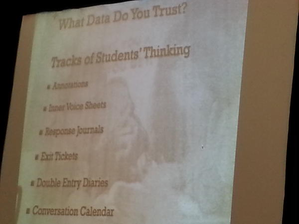 RT @BooksNhand: @ctovani Ways to collect formative data #TCTELA http://pic.twitter.com/d221W4GO