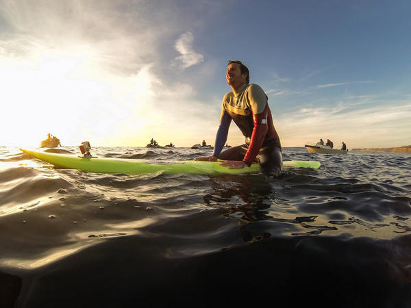 RT @GoPro: Surfer checks out the swell a day before Mavericks begins. #surf http://pic.twitter.com/dHJnt8cp