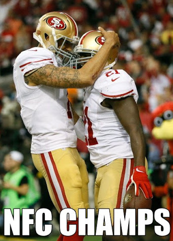 Congratulations San Francisco 49ers -- NFC CHAMPIONS!! http://pic.twitter.com/vYppn7kp