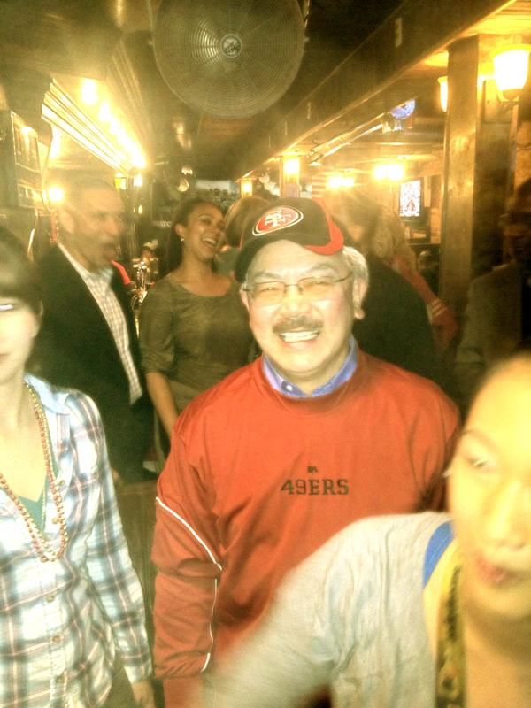Next stop ... New Orleans !!!! Super Bowl !!!  Celebrating with Mayor Lee at the Inauguration in DC !!! #49rs http://pic.twitter.com/u6J62B44