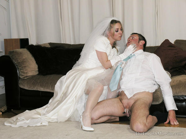 Femdom marriage using chastity