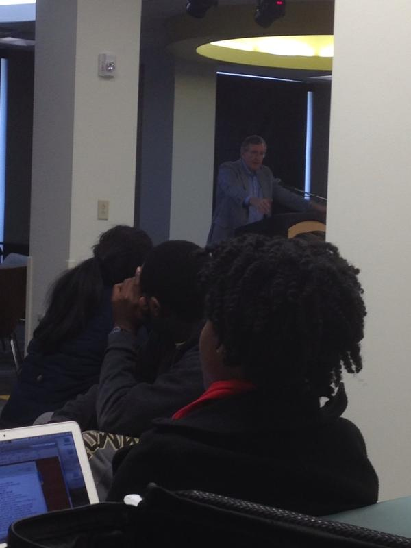 Rev Joe Ingle speaking on color kindness in our age. #VUMLK #MLKDay @VUMLK http://pic.twitter.com/XtjHlhC1