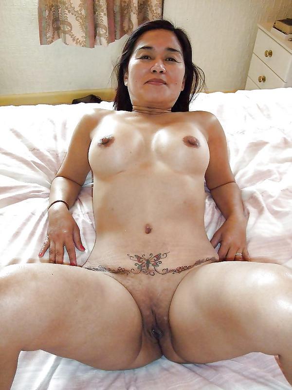 Nude sexy asian milf #1