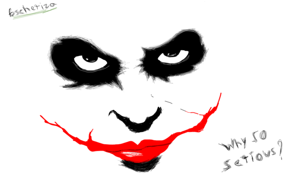 sketch toy on twitter why so serious by izabella escher http t