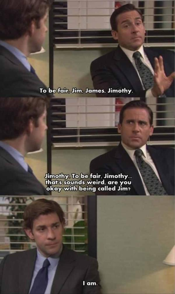 The Office Quotes On Twitter Jim James Jimothy Theoffice Http