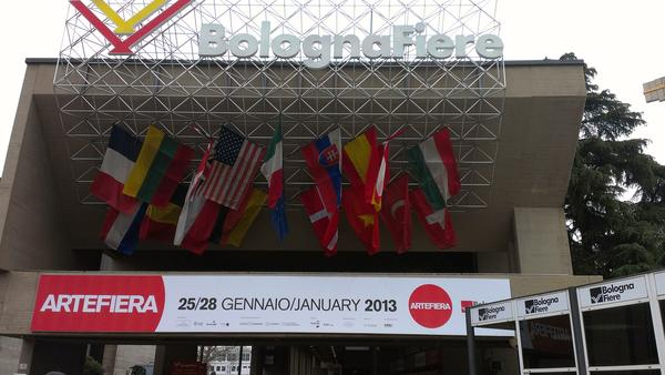 Thumbnail for 24 Gennaio: Inaugurazione #artefiera 2013