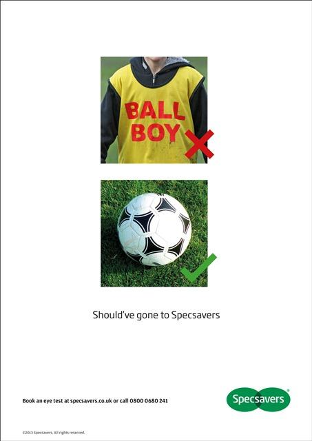 Specsavers respond to Hazard ballboy incident with quick and funny ad