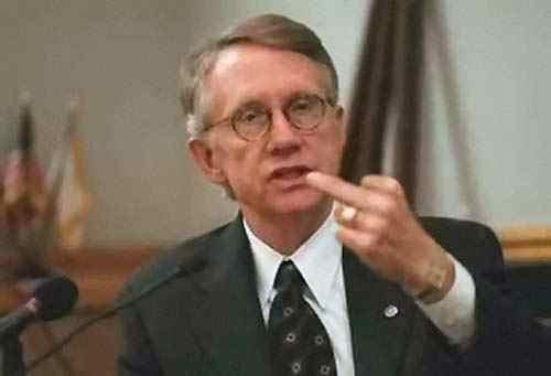 Harry Reid's PAC got $100,000 from Melgan – why no indictment?