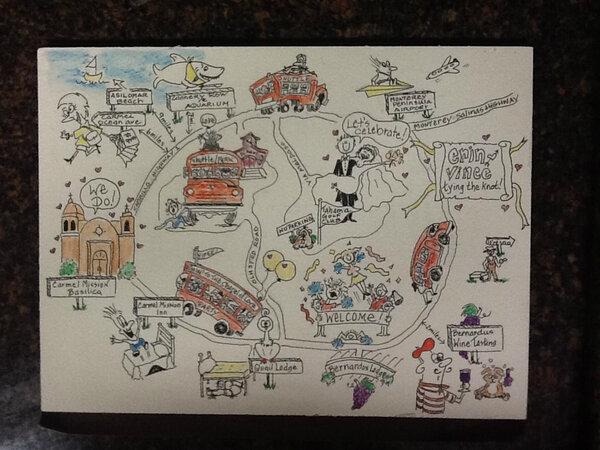 Client's wedding map is cracking me up #bernarduslodge #carmelhotel #eastwood_ #carmelBTSea #montereyAQ #suzyclementpic.twitter.com/kOPGy6lt