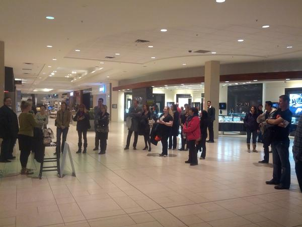 Lots of people are stopping to check out the awesome, if you're near @ChinookCentre, swing by! #AWEyyc @awesome_calgary http://pic.twitter.com/AjtKZEZV