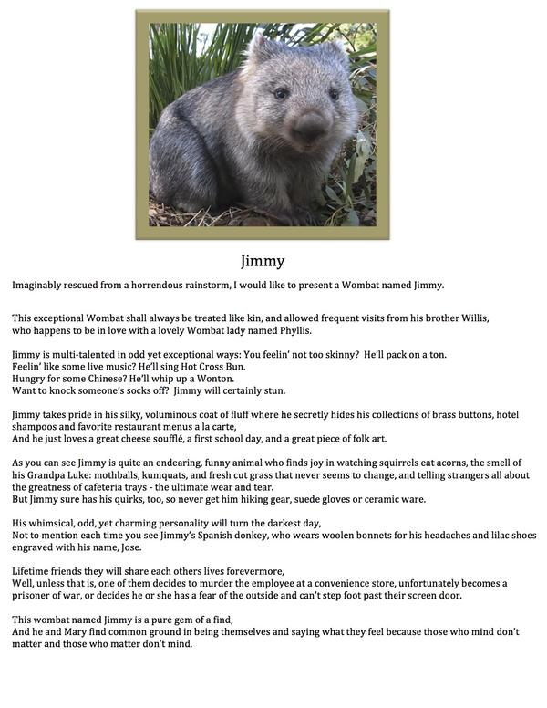 wombat poem Booktopia has wombat warriors by samantha wheeler buy a discounted paperback of wombat warriors online from australia's leading online bookstore.
