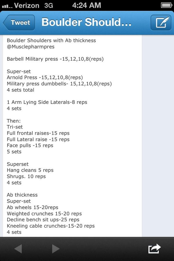 Y Shoulders Fitnessrx For Women