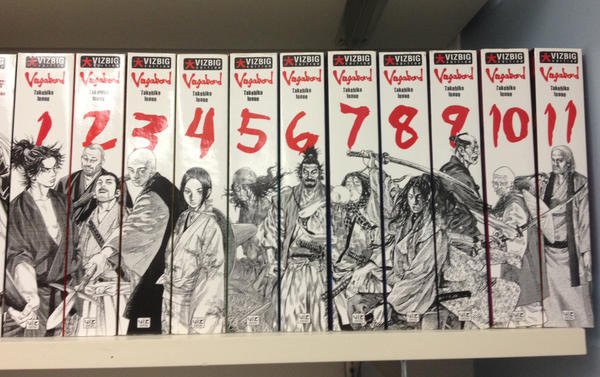 Image result for vagabond manga collection