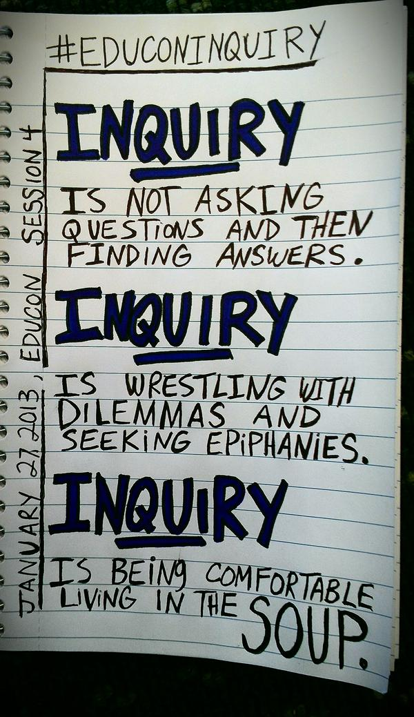 RT @plugusin: Here's my notes from @chrislehmann 's #educoninquiry session,  #educon nation.  (cc: @datruss) http://pic.twitter.com/IYd6AESD