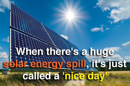solar spill, energy, nice day, panels,