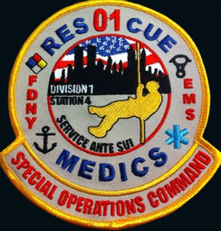 Fdny rescue 3 patch