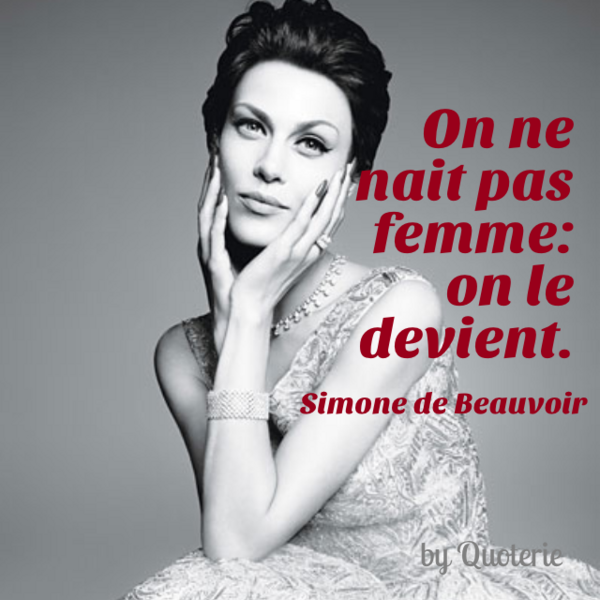 simone de beauvoir woman as other At 40, simone de beauvoir was the author of several well-received novels but was better known as jean paul-sartre's long-time companion  woman as other.