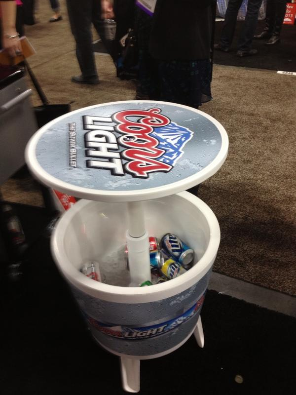 John Resnick On Twitter Pop Up Cooler Bar Table Yes We Can Make