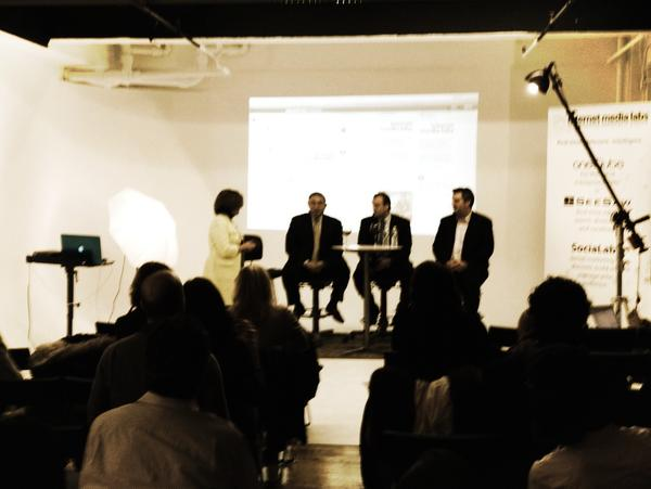 Big event in #TheLabNYC live now. #RIAcomply http://pic.twitter.com/3pOISYV0 on the #finance industry going #social ...