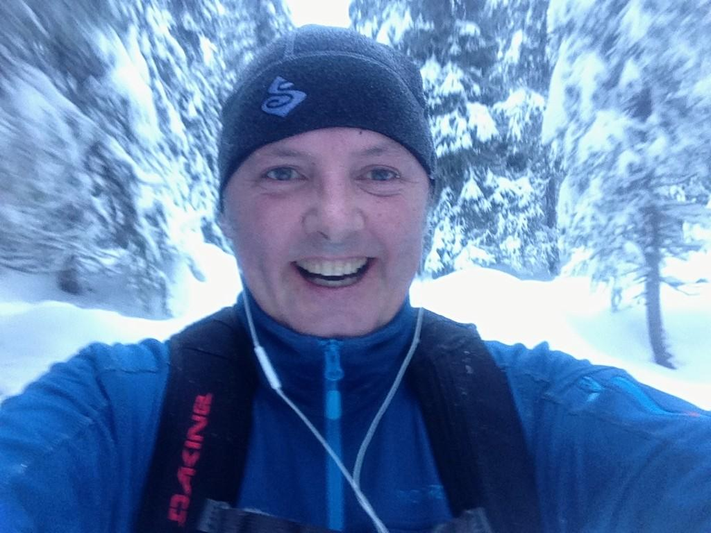 Happy to be back on the nordic skis
