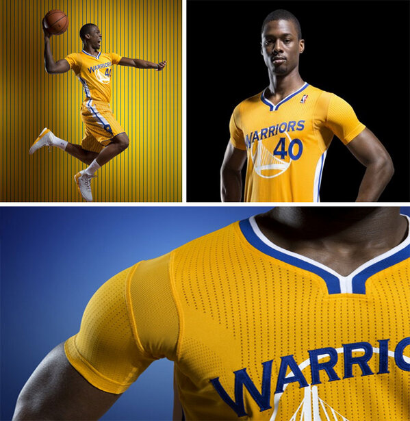 The Warriors will debut uniforms with sleeves for the first time in the NBA's modern era on Feb 22 (via @mercurynews) http://pic.twitter.com/SvN94MlK