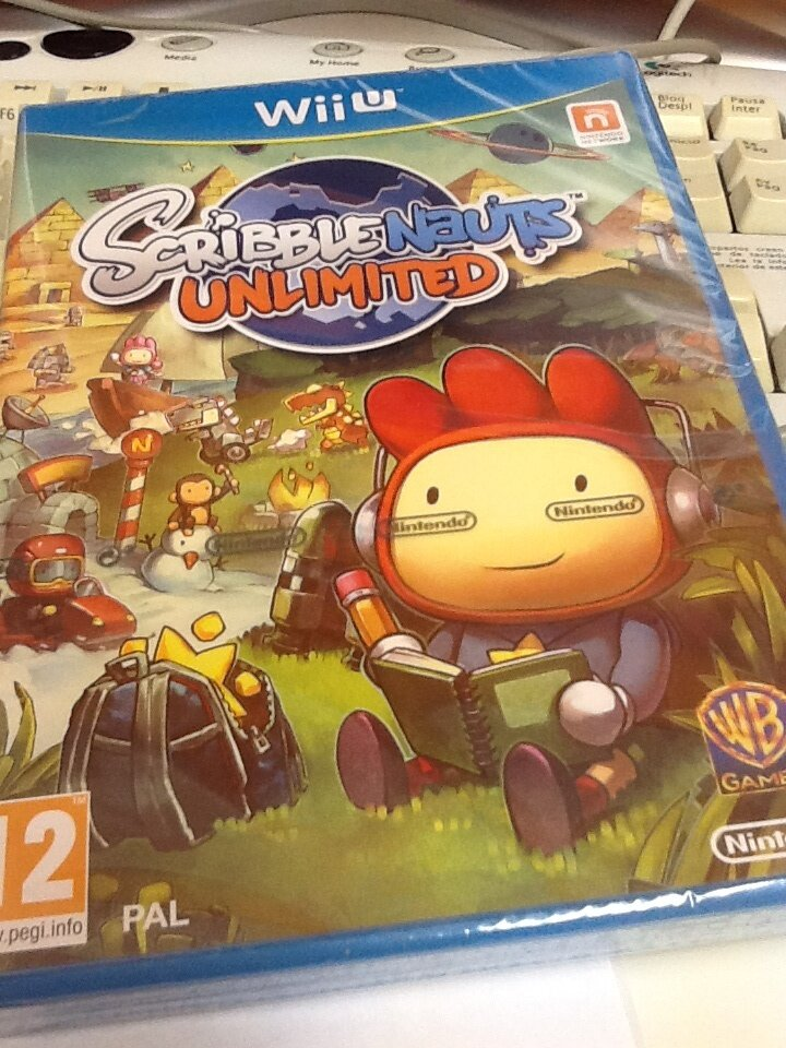 Scribblenatus Unlimited Wii U