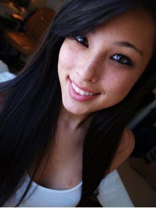 asian freckled girls