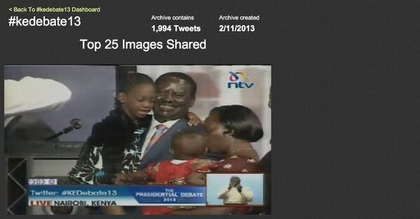 Top image NOW trending on #KeDebate13 is @RailaOdinga & @MarthaKarua pic.twitter.com/modTCyP5