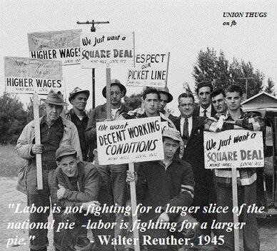 RT @StevenSinger3: Labor is not fighting for a larger slice of the pie -Labor is fighting for a larger pie.  http://pic.twitter.com/SyBB20N3
