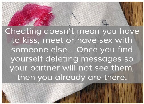 Is Kissing Someone Else Considered Cheating