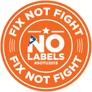Have you seen all those #orangepins? Those are the 43 problem solvers who are committed to #FixNotFight. #SOTU http://pic.twitter.com/GuFEBAmJ