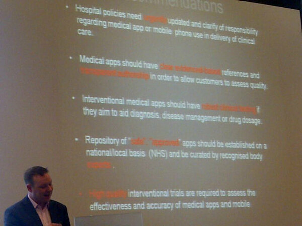 RT @devices4: Richard Brady @researchactive closes his brilliant talk at #LivApp with a great set of recommendations #mHealth #hApps http://pic.twitter.com/nHDAPeWI