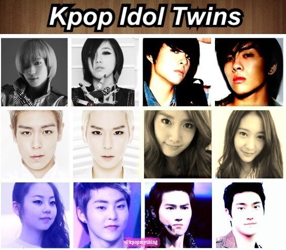 "We Love Kpop! on Twitter: ""#Kpop idols look-alike http://t ..."