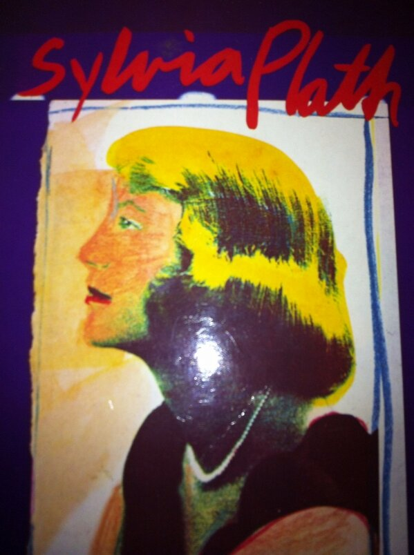 MY copy of The Bell Jar has just got this blonde random on it http://pic.twitter.com/fBSa6Qta