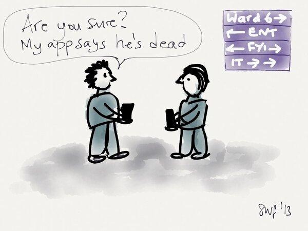 RT @sarahfraser: When is an app a medical device? #livapp #handihealth http://pic.twitter.com/CjZXLQxd