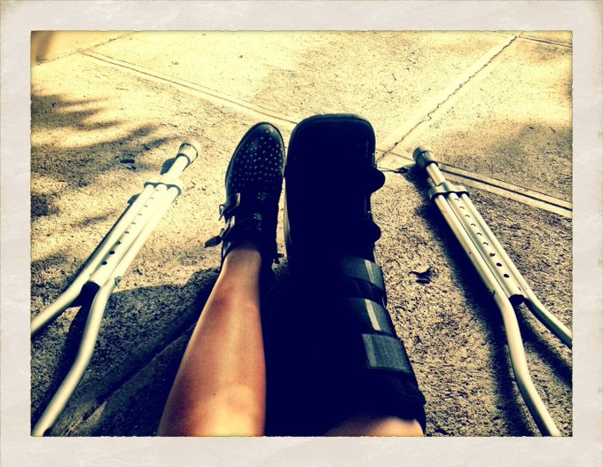 25 celebrities who've been seriously injured and spilled on social media