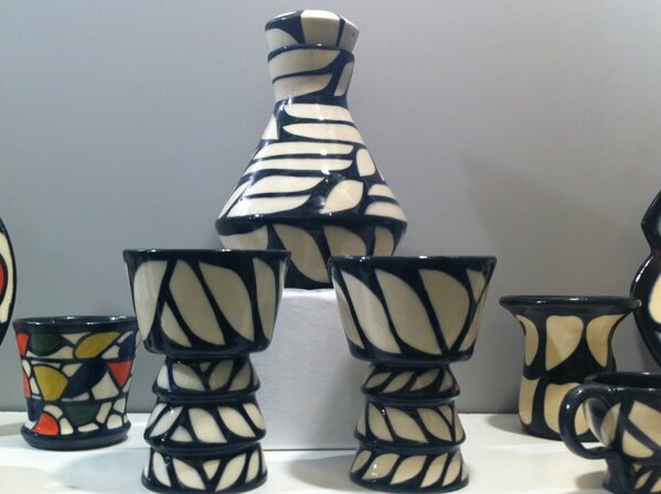 Recent @NBCCDLive graduate, artist Michelle Pellerin from Beresford is  inspired by Art Deco and NB's natural beauty. http://pic.twitter.com/DnnSous1