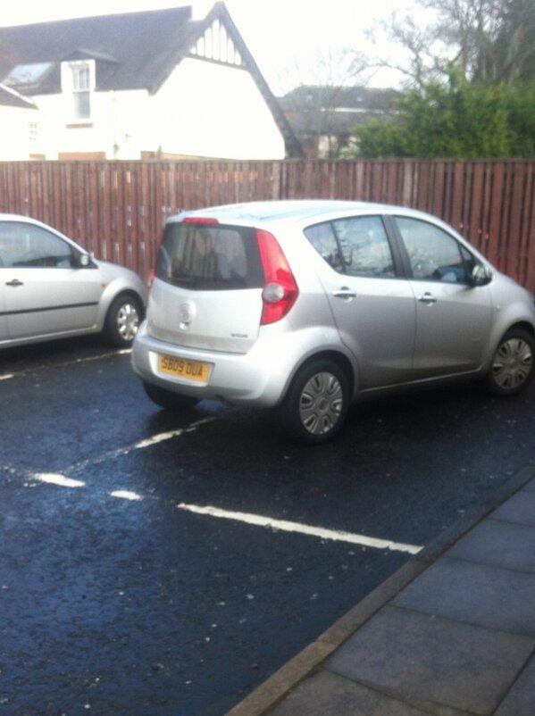 SB09 DUA displaying Selfish Parking