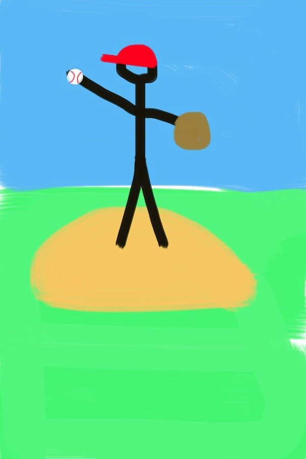 When @SportsonEarth hired me to illustrate at the Caribbean Series, they didn't know how brilliant I am at drawing. pic.twitter.com/GIy2vDTW