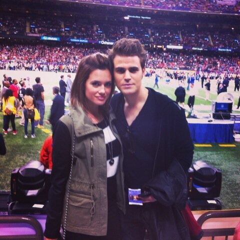 [Foto] Il cast di TVD al Super Bowl 2013
