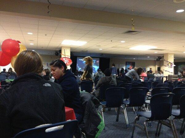 #JWUprov Super Bowl party! #WinterWeek13 #Winning http://pic.twitter.com/10LW4uiB