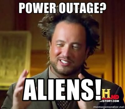 Thumbnail for Super Bowl Power Outage Memes & more